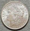 UNITED STATES Silver Coin 1890 MORGAN DOLLAR
